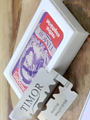 Cut Throat Shaving Razor Blades