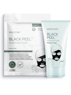 Beauty Pro Black Peel-Off Charcoal Mask