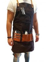 Barber Pro Waterproof Barbers Apron Dark Charcoal