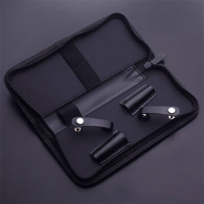 2 Hairdressing Barber Scissor Shear Storage Case